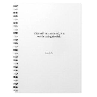 Het Citaat van Paulo Coelho Ringband Notitieboek