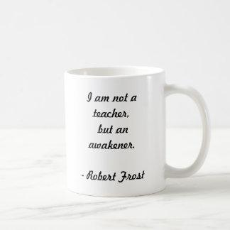 Het Citaat van Robert Frost Koffiemok