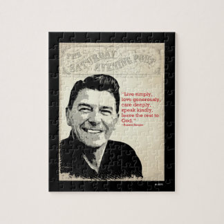 Het Citaat van Ronald Reagan Puzzel