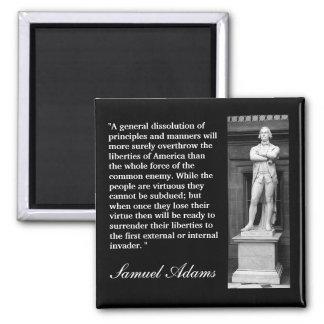 """Het Citaat van Samuel Adams een """"algemene Magneet"""