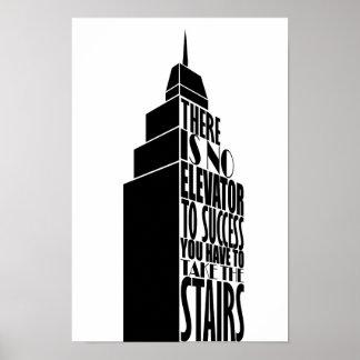 Het citaatontwerp van de aanmoediging poster