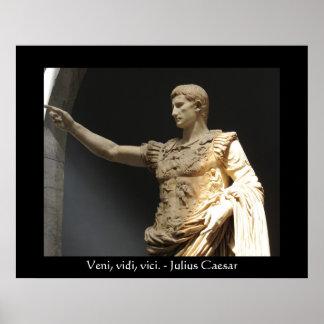 Het citaatPOSTER van Julius Caesar Poster