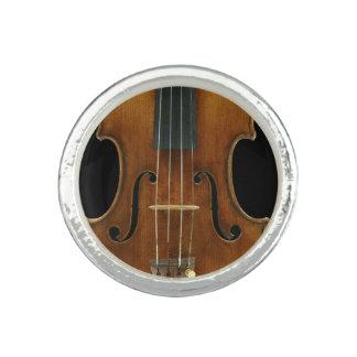 Het Close-up van Stradivari Foto Ringen