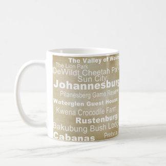 Het Collectie van de bestemming: Zuid-Afrika Koffiemok