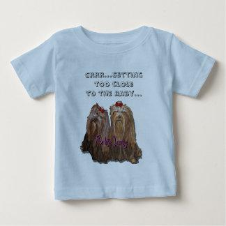Het Collectie van de Liefde van Yorkie Baby T Shirts