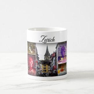 Het Collectie van de Reis van Zürich Koffiemok