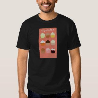 Het Collectie van de Vreugde van Baker: Cupcakes Shirts