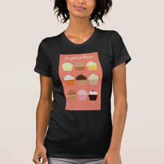 Het Collectie van de Vreugde van Baker: Cupcakes T-shirt