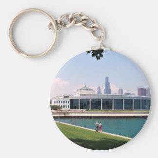 Het collectie van het Aquarium van Chicago Shedd Sleutelhanger