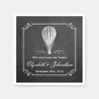 Het collectie van het Huwelijk van de Ballon van Papieren Servet