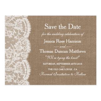 Het collectie van het Huwelijk van de Jute & van Briefkaart