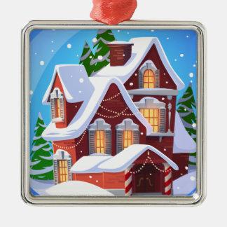 Het comfortabele Ornament van het Huis van