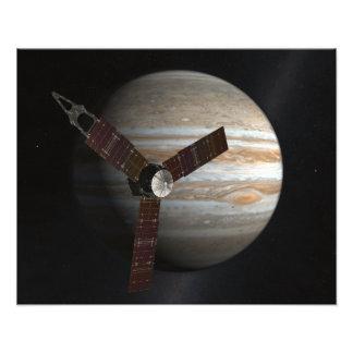 Het concept van de kunstenaar het ruimtevaartuig foto afdruk