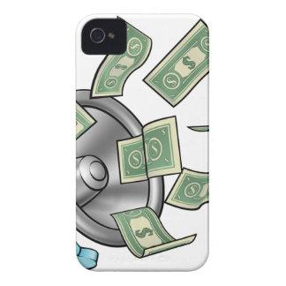 Het Concept van de Megafoon van het Geld van de iPhone 4 Hoesje