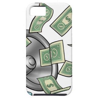 Het Concept van de Megafoon van het Geld van de Tough iPhone 5 Hoesje