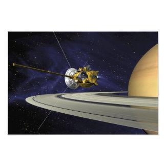 Het concept van kunstenaars Cassini Foto Afdruk