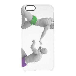 Het Concept van vechtsporten voor het Vechten en Doorzichtig iPhone 6/6S Hoesje