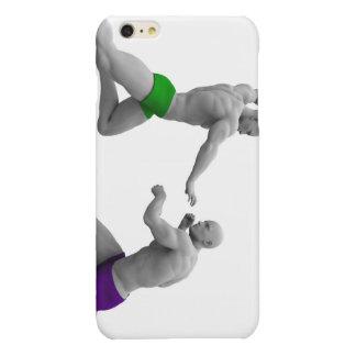 Het Concept van vechtsporten voor het Vechten en iPhone 6 Plus Hoesje Glanzend