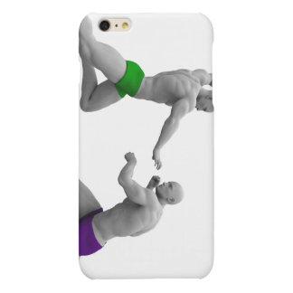 Het Concept van vechtsporten voor het Vechten en Matte iPhone 6 Plus Hoesje