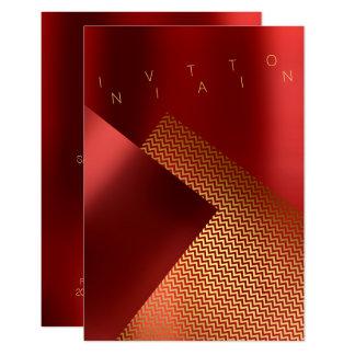 Het conceptuele Goud van het Metaal van Chaveron Kaart