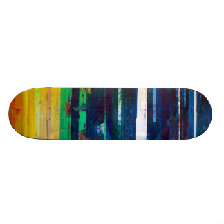 Het concrete Dek van het Schaats van Gedichten 18,1 Cm Old School Skateboard Deck