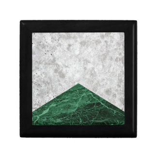 Het concrete Groene Graniet van de Pijl #412 Decoratiedoosje