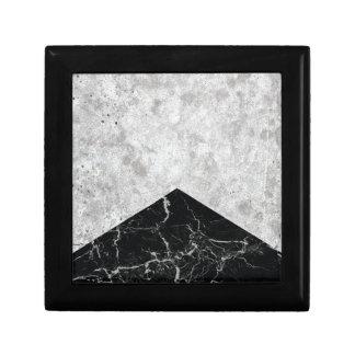 Het concrete Zwarte Graniet van de Pijl #844 Decoratiedoosje