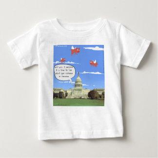 Het congres & het Geweld van het Pistool spreken Baby T Shirts