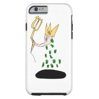 Het contante geld beslist alles rond me tough iPhone 6 hoesje