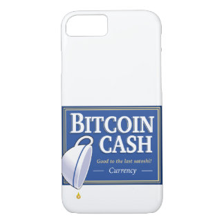 """Het Contante geld van Bitcoin """"Goed aan"""" het iPhone 8/7 Hoesje"""
