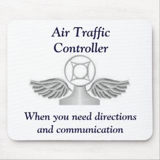 Het Controlemechanisme van het Luchtverkeer Mousep Muismat