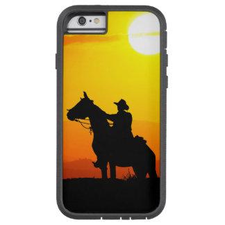 Het cowboy-cowboy-zonneschijn-western-land van de tough xtreme iPhone 6 hoesje