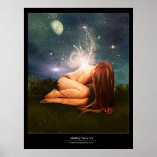 het creëren van feeën poster