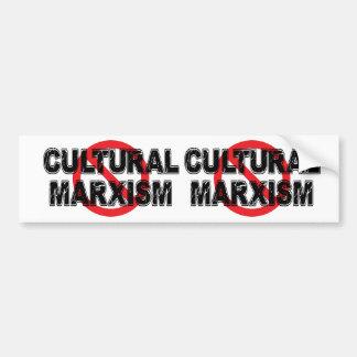 Het Culturele Marxisme van het verbod Bumpersticker