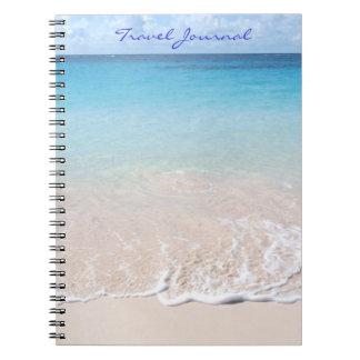 Het Dagboek van de reis (het strand van de Ringband Notitieboek
