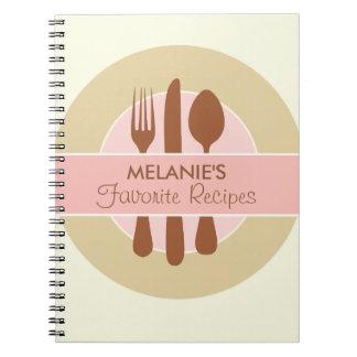 Het Dagboek van het recept, roze Notitieboek