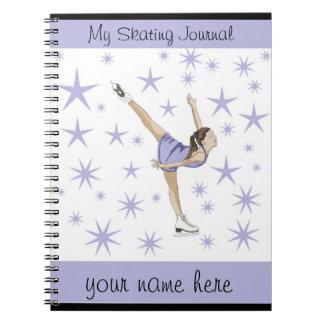 Het Dagboek van kunstschaatsen Ringband Notitieboek