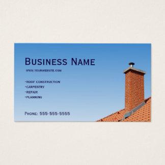 Het dak van de timmerman visitekaartjes