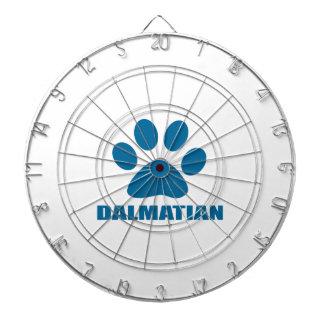 HET DALMATISCHE DESIGN VAN DE HOND DARTBORD