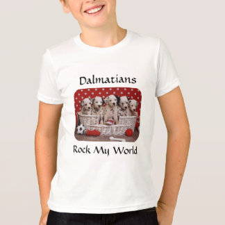 Het Dalmatische Puppy schommelt Mijn T-shirt van