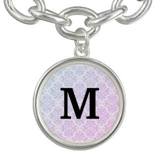 Het Damast/de glamour van het monogram Armbanden