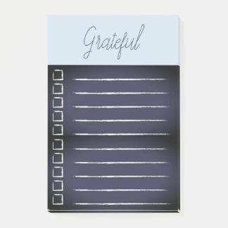 Het dankbare Blauw van de Post-its van de Post-it® Notes