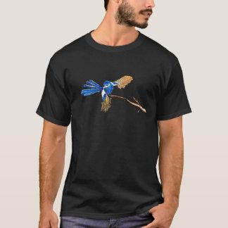 Het dansen de Blauwe Australische Vogel van het T Shirt