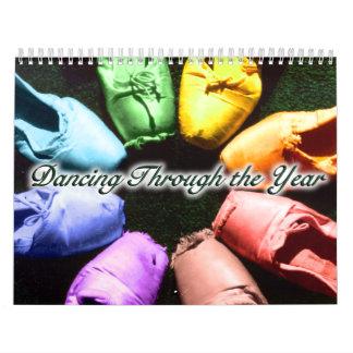 Het dansen door het Jaar: 2015 Kalender
