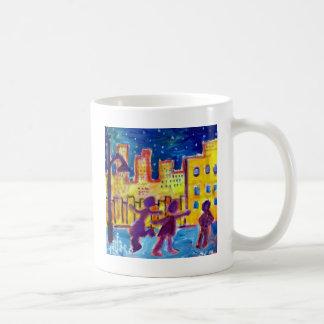 Het dansen in de Straat door Piliero Koffiemok