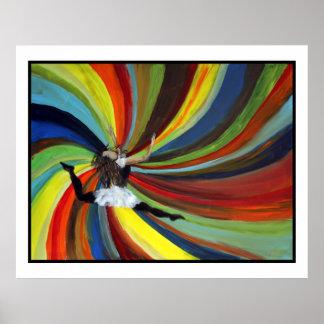 Het dansen met God Poster