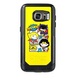 Het Dansen van de Helden van Chibi OtterBox Samsung Galaxy S7 Hoesje