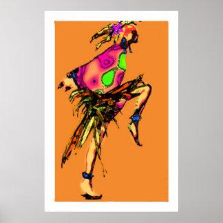 Het Dansen van de zigeuner Poster
