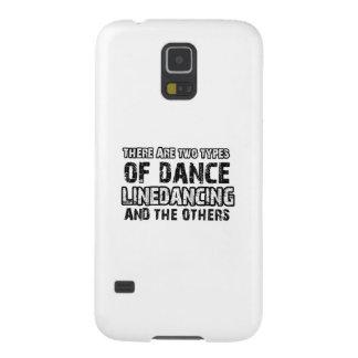 Het dansen van Linedancing design Galaxy S5 Hoesje