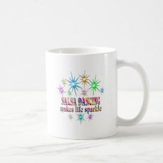 Het Dansen van Salsa Fonkelingen Koffiemok